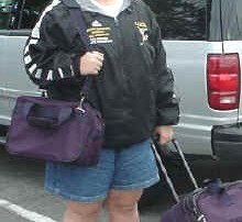 Heading off to my first recruiting trip at UO back in 2000.