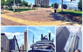 Exploring around Detroit